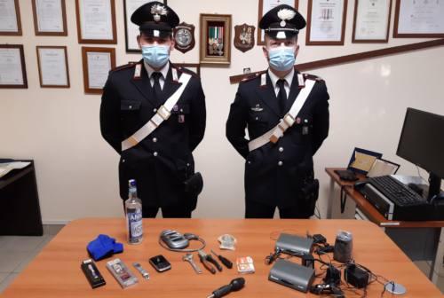Furto in un'abitazione di Porto Sant'Elpidio: arrestato un 28enne