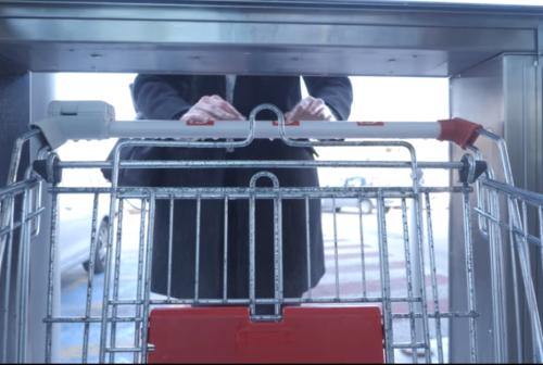 Carrello della spesa e mani igienizzati in 5 secondi: ecco l'innovazione della Tre Elle di Fermo