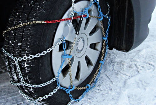 Polstrada di Ancona, scatta l'obbligo di pneumatici da neve o catene a bordo