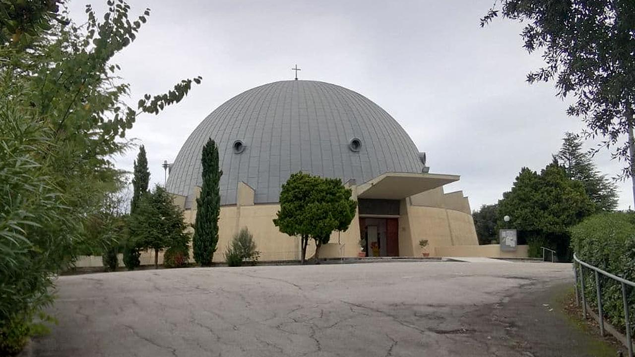 La chiesa sant'Antonio da Padova a Marzocca di Senigallia