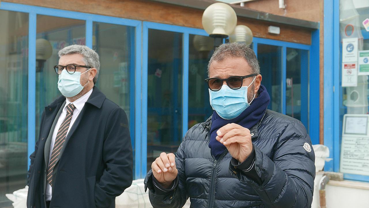 Massimo Olivetti e Corrado Canafoglia