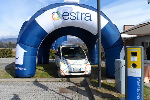Estra con Enermìa per la diffusione dell'e-mobility