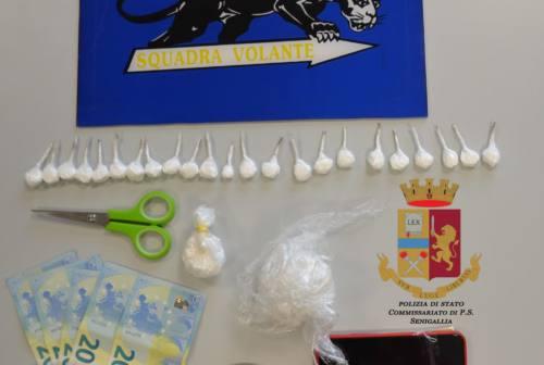 Spaccio di cocaina, un arresto a Senigallia