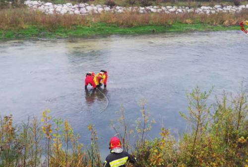 Choc a Maiolati Spontini: cadavere trovato nel fiume Esino