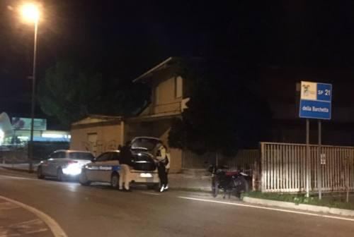 Monsano, scontro tra auto e moto: centauro trasportato al pronto soccorso