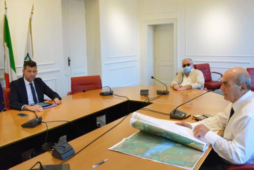 Mangialardi incontra il presidente del Consorzio di bonifica delle Marche: al centro il fiume Misa