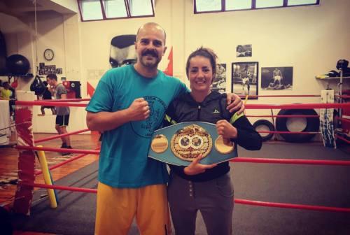 La Pugilistica Jesina vola a Londra con Jorgelina Guanini a combattere per la cintura mondiale