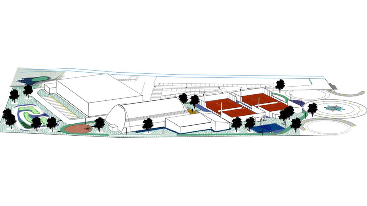 Il progetto del nuovo parco sportivo in zona Nevola a Corinaldo
