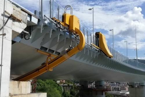Sul nuovo ponte di Genova robot e sensori targati Marche a monitorarne la sicurezza