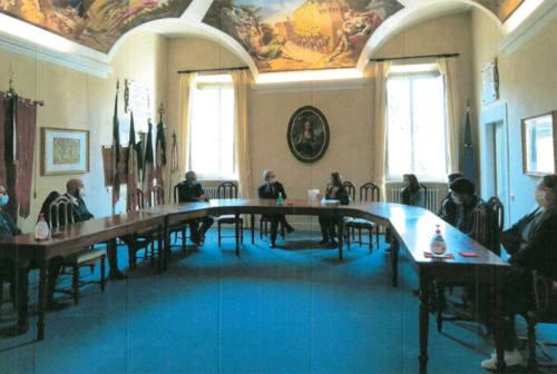 Visita del prefetto di Ancona a Serra de' Conti