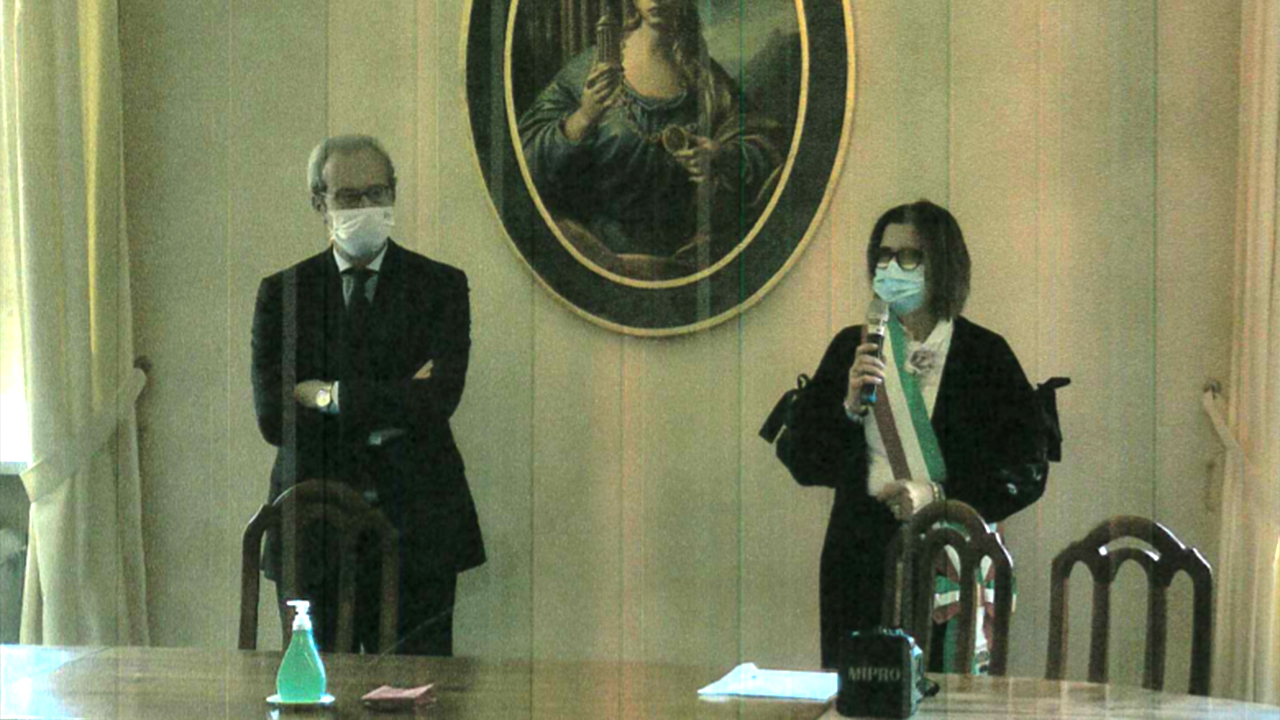 Antonio d'Acunto e Letizia Perticaroli