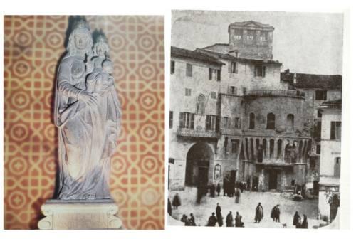 Jesi, altra statua da spostare: dal Papa Re a Peppone, storia della Madonna da riportare in piazza