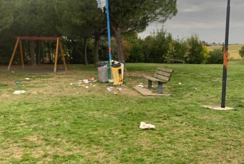 Montemarciano, atti vandalici al parco di Case Bruciate e all'Acquedotto comunale