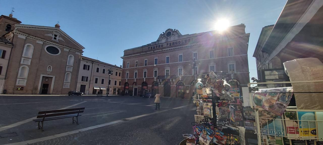 Jesi, piazza della Repubblica