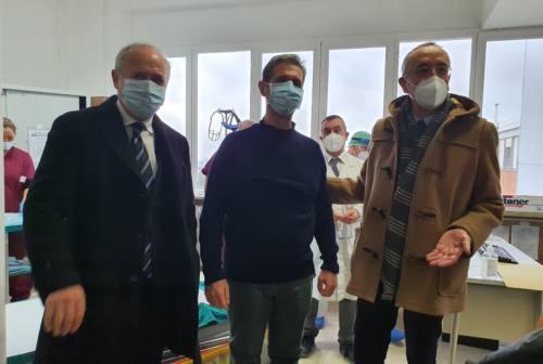 Vaccine day all'Inrca di Ancona