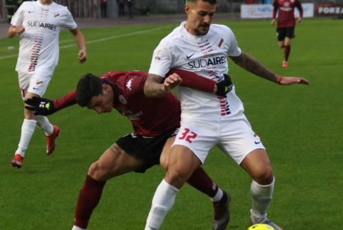 Calcio, LegaPro: Samb corsara ad Arezzo. Zironelli: «Bravi i ragazzi, in pochi faranno punti qui»