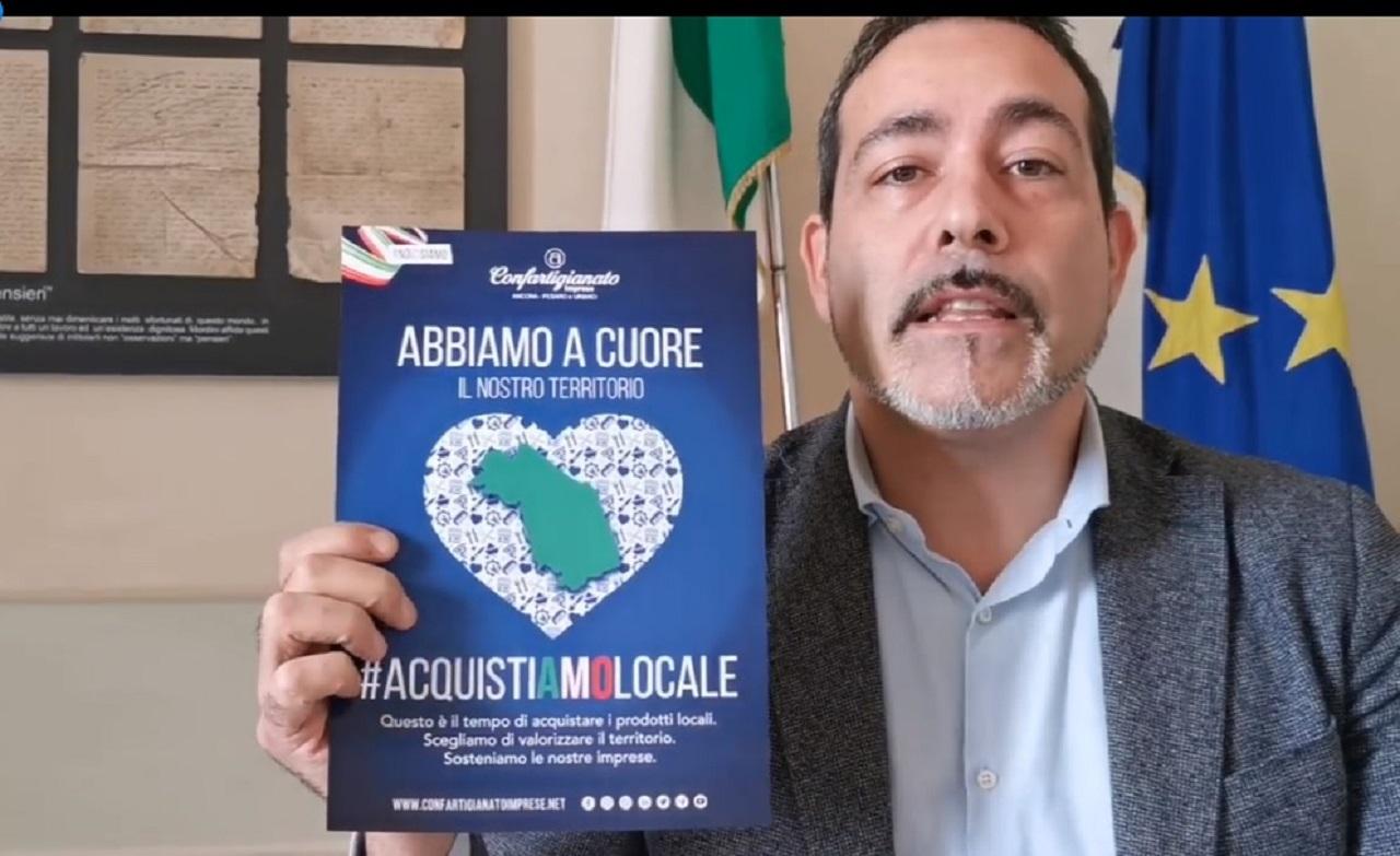 Il sindaco Roberto Ascani nel video
