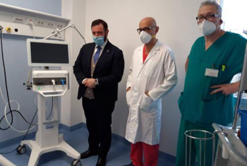 Pesaro, pronti altri 14 posti letto per la terapia intensiva