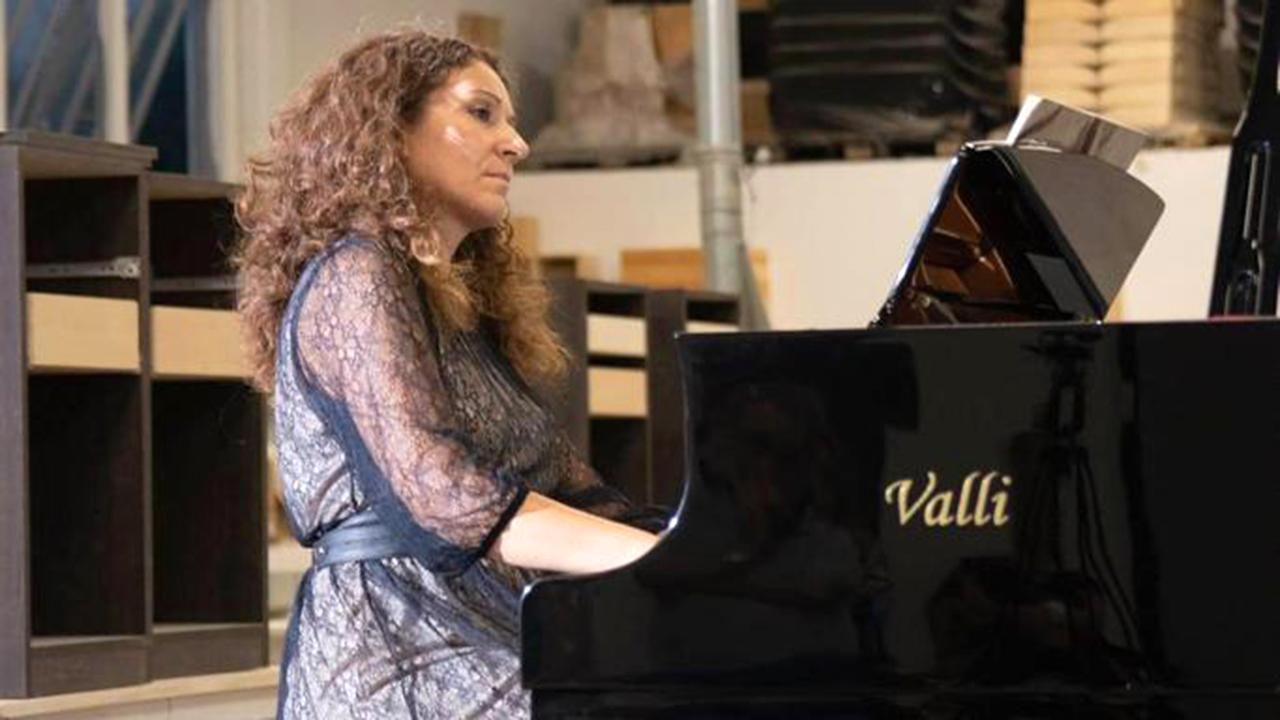 Ilenia Stella, direttrice della scuola di musica Padovano di Senigallia