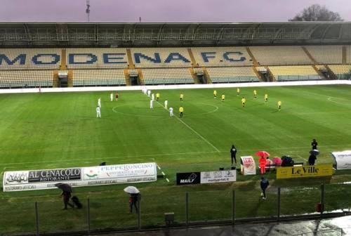 Fermana sconfitta a Modena 1-0. Il solito gol in avvio punisce i canarini