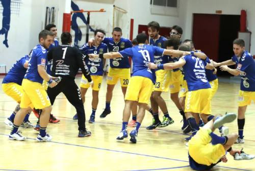 Pallamano Camerano, coach Campana: «Felici della vittoria con il Tavarnelle»