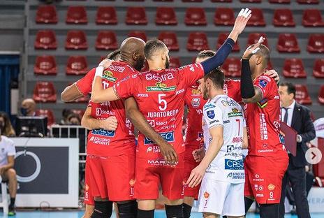 Volley, la Cucine Lube conquista 3 punti facili a Cisterna