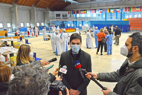 Screening di massa, Acquaroli: «Quasi 1.000 positivi isolati e tracciati»