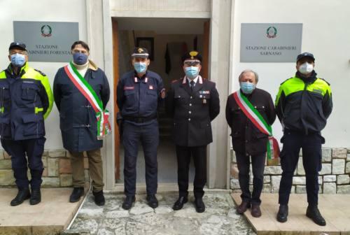 Sarnano, i carabinieri lasciano i moduli abitativi post-sisma: aperta la nuova sede