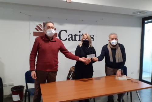 Jesi, il dono di Avis alla Caritas, «consorella in prima linea»