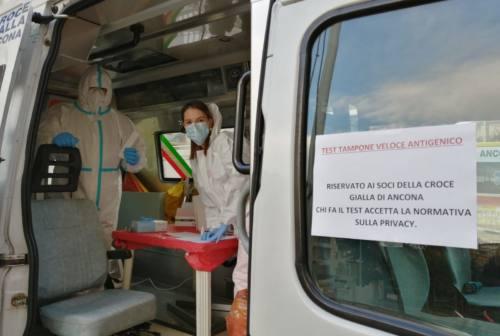 Ancona, alla Croce Gialla volontari e operatori tutti negativi al covid