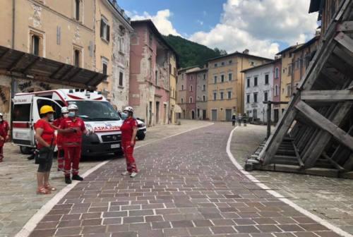 Dal sisma al Covid, il grande cuore della Croce Rossa di Visso