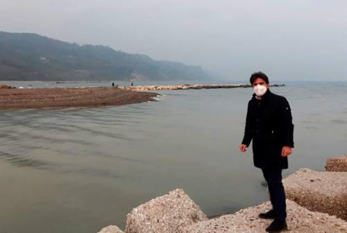 Pesaro, tappo alla foce del fiume Foglia: ecco i fondi per la rimozione periodica