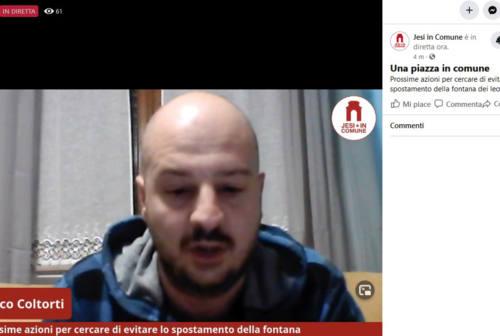 Lascito Morosetti e fontana dei Leoni, Jesi in Comune: «Valutiamo il referendum abrogativo»