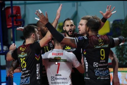Volley, la Cucine Lube Civitanova illude ma dice addio alla Champions League