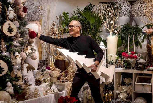 Addobbi floreali e decorazioni per il Natale: i consigli di Mauro Fioreria di Senigallia – VIDEO