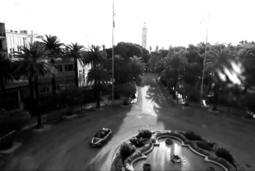 Ascoli Piceno, le strade vuote  del lockdown percorse solo dalla Polizia: il racconto in un video