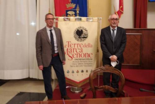 """Dario Perticaroli nuovo presidente dell'unione dei comuni """"Le terre della marca senone"""""""