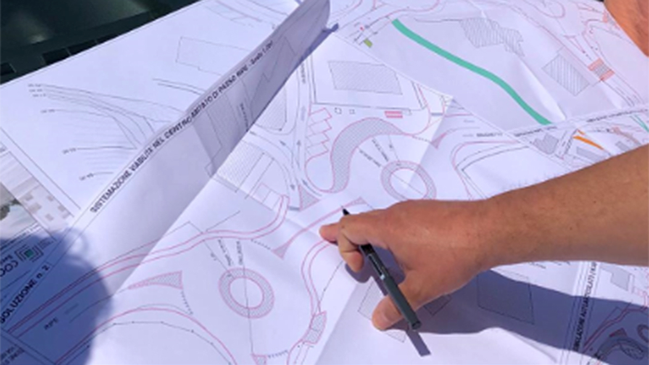 Il progetto delle rotatorie sulla sp 18 a Passo Ripe di Trecastelli
