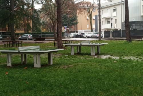 Jesi, parallele per il fitness e tavoli da ping pong nei parchi cittadini