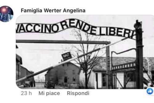 Pesaro, polemiche dopo il fotomontaggio no vax con i lager. La Lega: «Non l'ha fatto un nostro esponente»