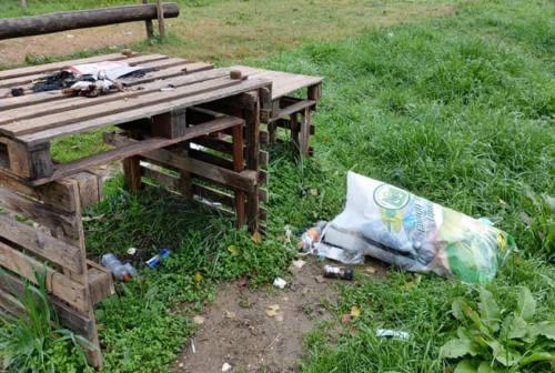 Jesi, centro di brucatura di via Binda: niente più caprette, largo al degrado