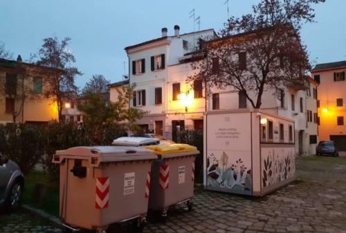 Jesi, centro storico: arrivano dalla Puglia le nuove isole ecologiche smart