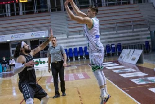 Campetto Basket Ancona, Potì: «Siamo contenti ma non vogliamo accontentarci»