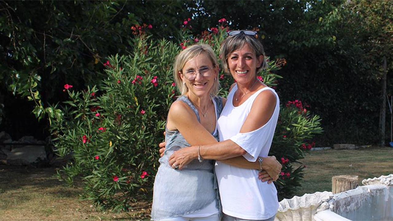 Le due mamme protagoniste dell'iniziativa: Camilla Tommasi e Giovanna Carboni