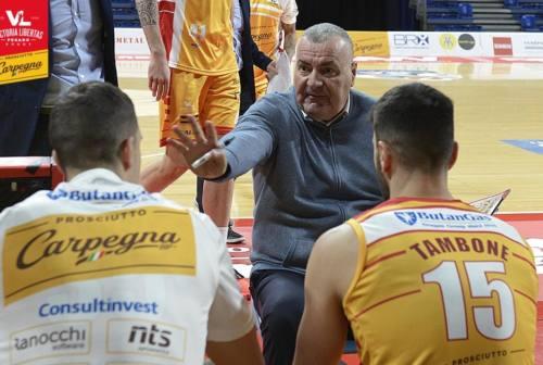 Basket, un positivo in casa VL alla vigilia di Sassari