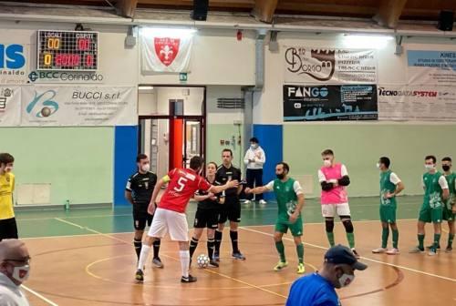 Futsal serie B, il Cus Ancona espugna Corinaldo e mantiene saldo il primato