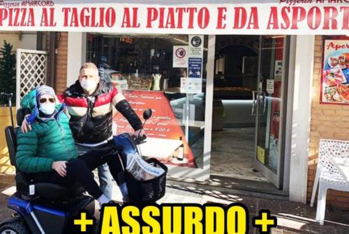 Porto Recanati, disabile multato in pizzeria. Salvini: «Pagherà la Lega»