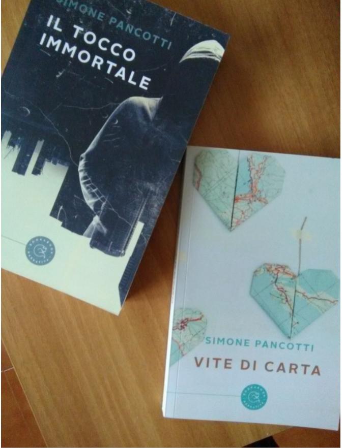 I due romanzi di Simone Pancotti