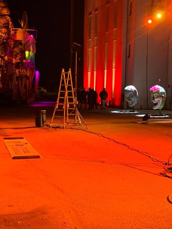 I preparativi l'edizione 2021 del carnevale di Fano