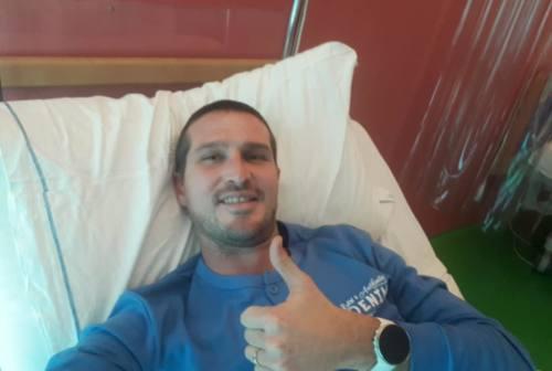 Calcio LegaPro, Fermana: operazione riuscita per capitan Comotto. Sabato sfida col Legnago